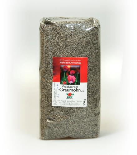 Waldviertler Graumohn ungemahlen - 1 kg