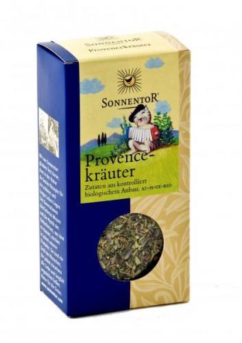 Provencekräuter bio 25g Packung:Kräuterdorf – Sprögnitz / Sonnentor