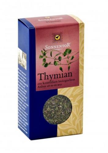 Thymian bio 25 g Packung: Kräuterdorf – Sprögnitz / Sonnentor